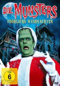 Die Munsters froehliche Weihnachten - DVD-Cover