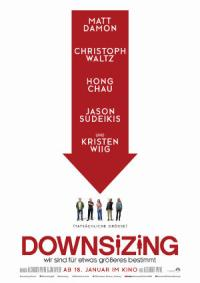 Downsizing - Poster | Science Fiction Komödie