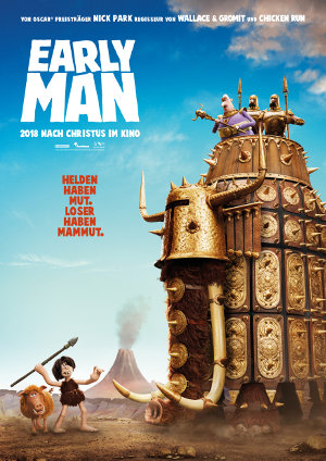 Early Man - Poster | Animationsfilm in der Steinzeit