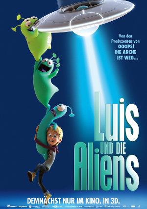 Luis Und Die Aliens - Poster   deutscher Animationsfilm