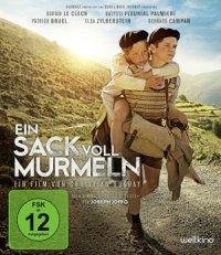 Ein Sack voll Murmel - Blu-Ray-Cover | Zwei jungen Reisen durch Frankreich