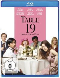 Table 19 - Blu-Ray Cover | Komödie auf Hochzeit