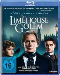 The Limehouse Golem - Blu-Ray-Cover | Mystery-Thriller mit Bill Nighy