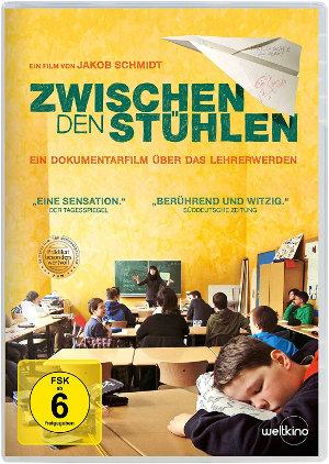 Zwischen den Stühlen - DVD-Cover | Dokumentarfilm über Leher in Ausbildung