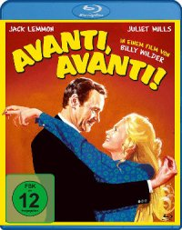 Avanti Avanti - Blu-Ray Cover | Jack Lemmon und Billy Wilder