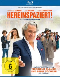 Hereinspaziert - Blu-Ray-Cover | Komödie mit Christian Clavier