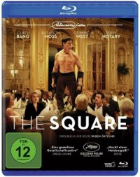 The Square - Blu-Ray-Cover | Satire von Ruben Östlund