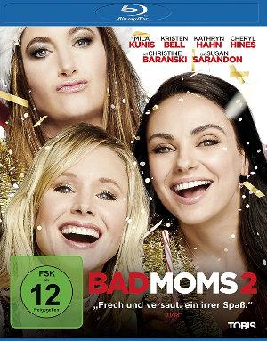Bad Moms 2 - Blu-Ray Cover   Komödie