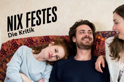 Nix Festes - Sitcom ZDF Neo | Der Cast auf der Couch