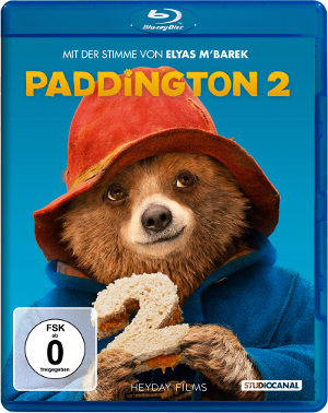 Paddington 2 - Blu-Ray-Cover