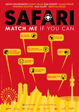 Safari - Match me if you can - Poster | Komödie