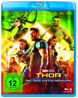Thor - Tag der Entscheidung - Blu-Ray-Cover | Marvel Cinematic Universe