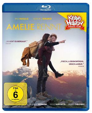 Amelie Rennt - Blu-Ray-Cover | Coming f Age Komödie