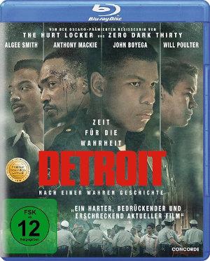 Detroit - Blu-Ray-Cover | Thriller nach wahrer Begebenheit