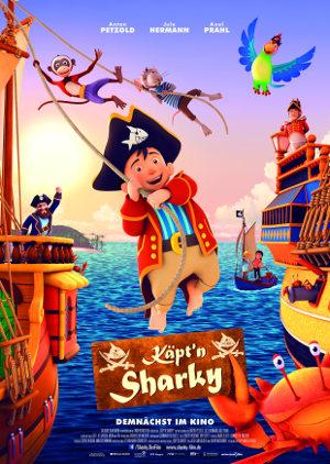 Kaeptn Sharky - Poster   Animationfilms, Piratenfilm