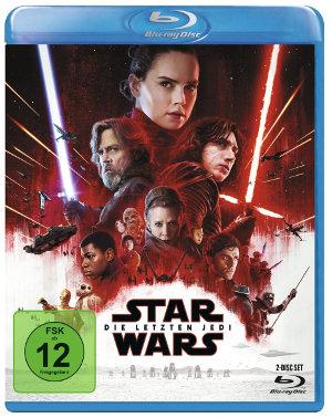 Star Wars 8 - Die letzten Jedi - BluRay-Cover