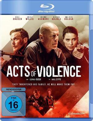 Acts of Violencs - Blu-Ray-Cover | Action-Thriller