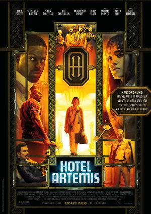 Hotel Artemis - Poster | Thriller