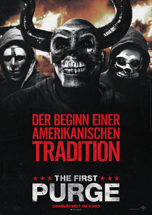 The First Purge - Poster | Thriller Prequel