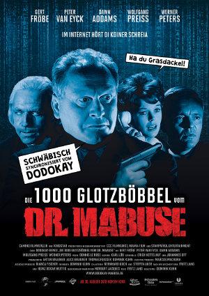 Die 1000 Glotzmoebel des dr. Mabuse - Poster | Komödie auf Schwäbisch