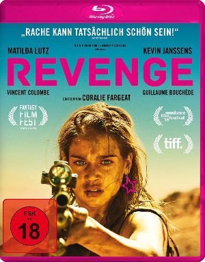 Revenge - BluRay Cover - Rape & Revenge Movie aus Frankreich