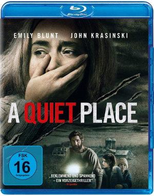 A Quiet Place - Bd-Cover | Horrorfilm, Aliens