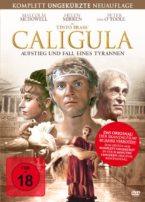 Caligula - Aufstieg und Fall eines Tyrannen - BluRay-Cover | erstmal uncut