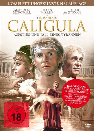 Caligula - Aufstieg und Fall eines Tyrannen - BluRay-Cover   erstmal uncut