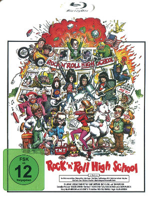 Rock'N'Roll Highschool - Blu-Ray-Cover | Review