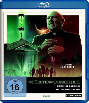 Fürst der Dunkelheit - Prince of Darkness - Blu-Ray Cover | John Carpenter
