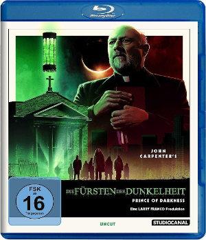 Fürst der Dunkelheit - Prince of Darkness - Blu-Ray Cover | John Carpenter