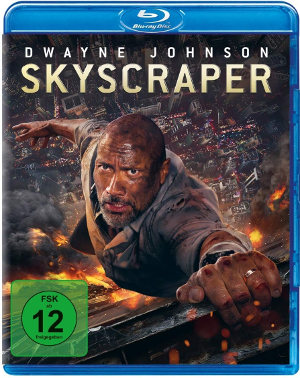 Skycraper - BluRay-Cover - ab dem 15. November im Handel
