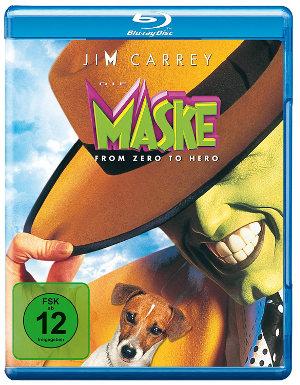 Die Maske - DVD-Cover | Comicverflimung mit Jim Carrey