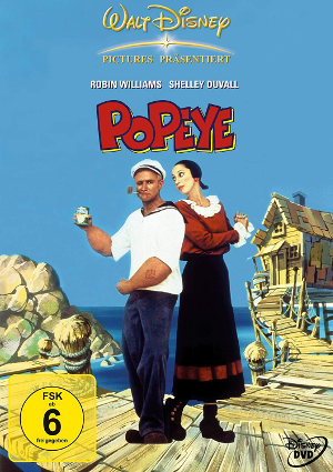 Popeye - DVD-Cover | Robin Williams