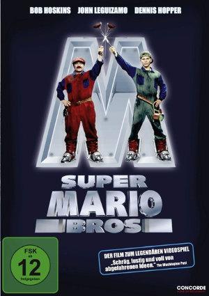 Super Mario Bros - DVD-Cover