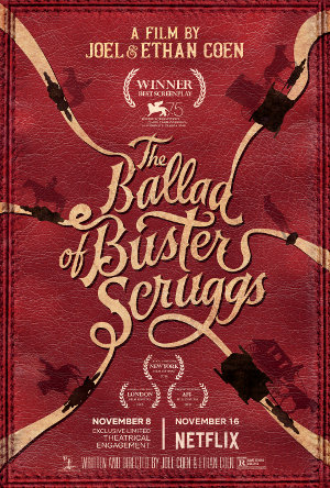 The Ballad of Buster Scruggs - Poster | Western auf Netflix