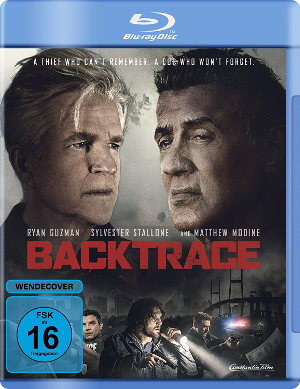 Backtrace - BD-Cover | Kritik