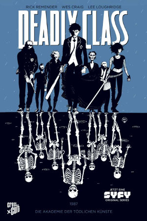 Deadly Class - Cover Band 1 - Cross Cult Comics
