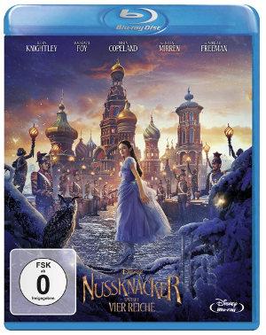 Der Nussknacker und die vier Reiche - BluRay-Cover | Disney-Märchen