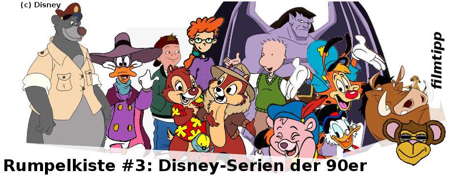 Disney Serien der 90er Jahre | Ducktales, Gargoyles, Chip und Chap, Pepper Ann, Doug