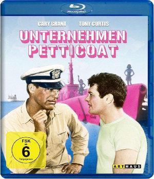 Unternehmen Petticoat - BluRay-Cover   Komödie mit Tony Curits und Cary Grand
