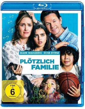 Plötzlich Familie - BluRay-Cover | Komödie von Sean Anders
