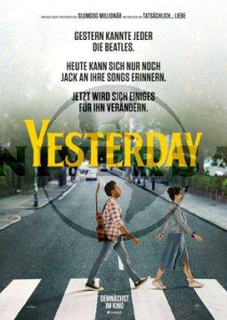 Yesterday - Poster | Romanze von Danny Boyle