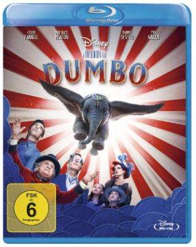 Dumbo - BluRay-Cover   von Tim Burton Disney