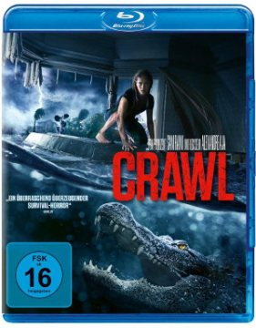 Crawl - BluRay-Cover   Horror im Handel erhältlich