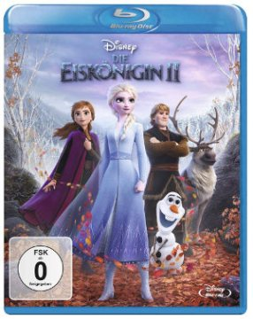 Die Eiskönigin 2 - Blu-Ray-Cover