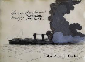 The Sinking of the Lusitania (1918).