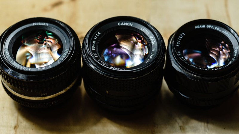 3 Vintage 50mm f1.4 Lenses to Mount to a Sony Mirrorless Camera