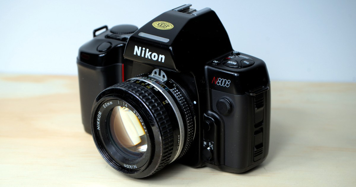 Nikon N8008 w Nikkor AI 50mm 1:1.4