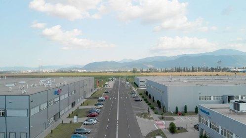 Filmare aeriana parc industrial ICCO Ghimbav